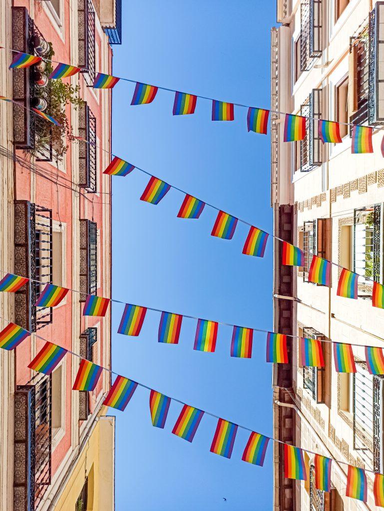 Banderas LGBT+ Orgullo Madrid 2021