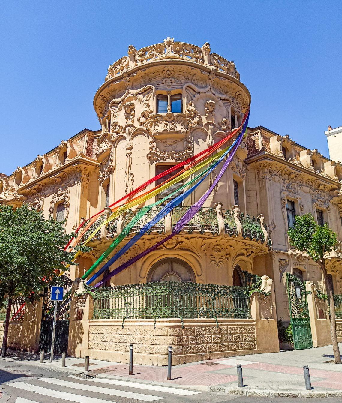 Palacio Longoria Orgullo LGBT+ Madrid 2021