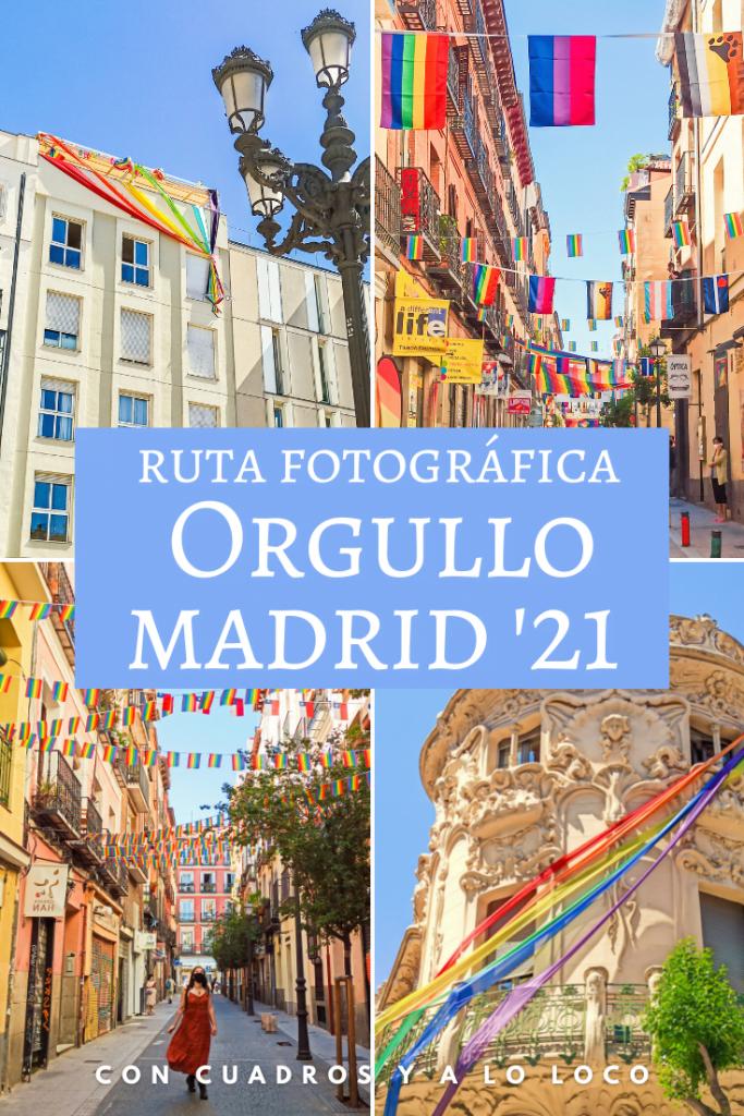 Pin sobre Ruta orgullo Madrid 2021 de Con cuadros y a lo loco