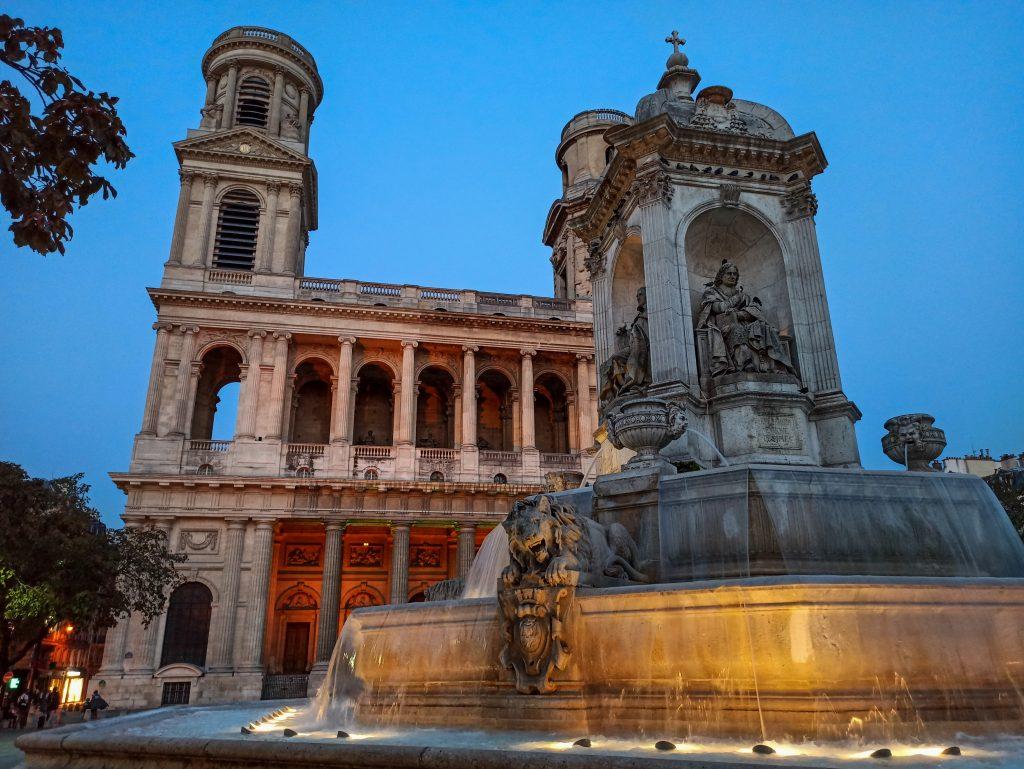 iglesia de saint sulpice paris distrito VI