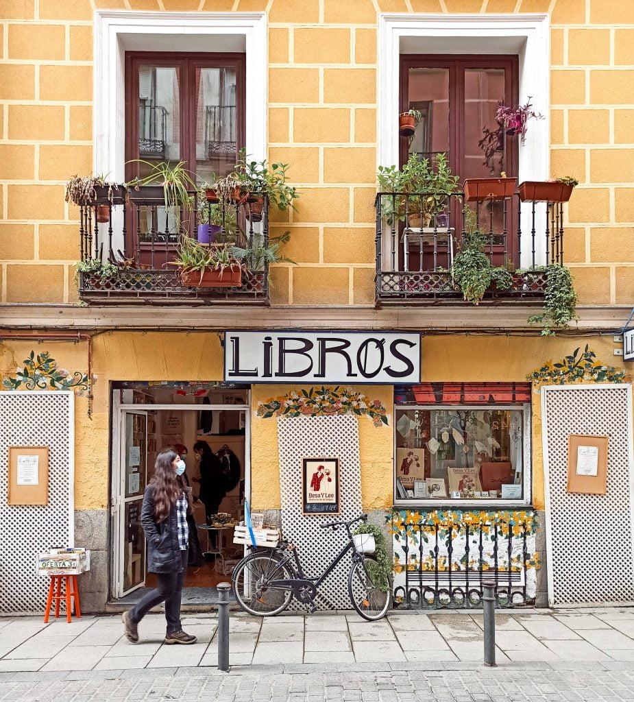 libros para un mundo mejor malasaña madrid calles que visitar