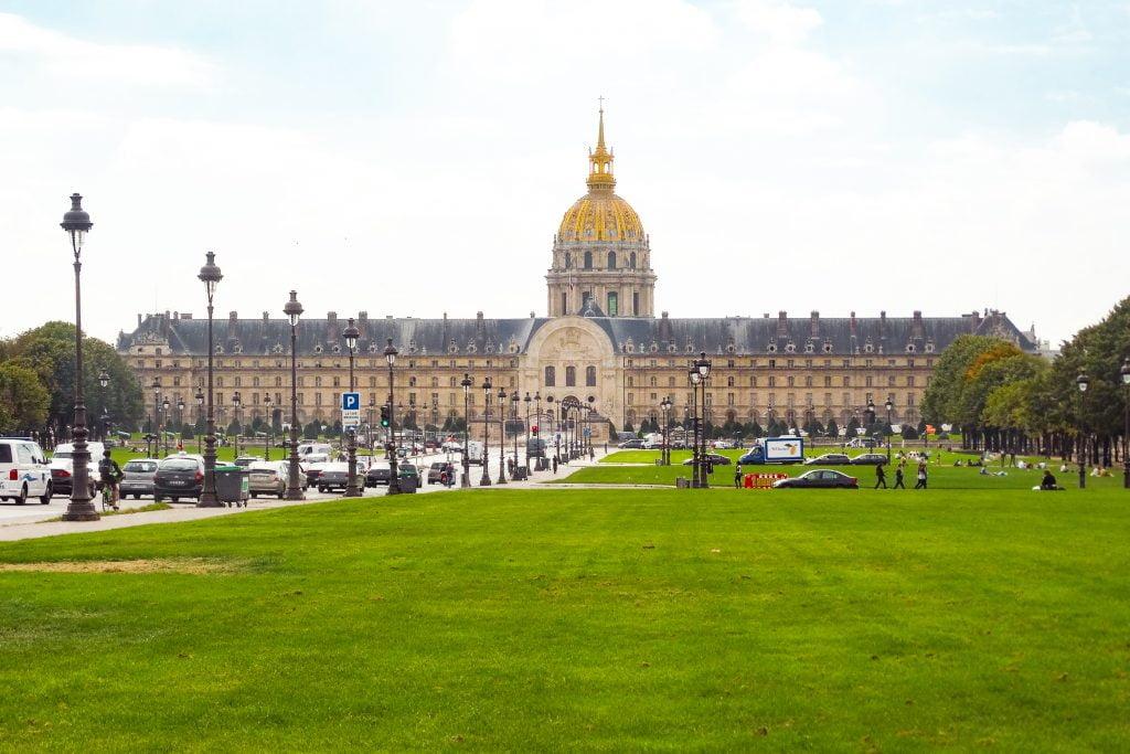 Los inválidos de París en el Distrito VII